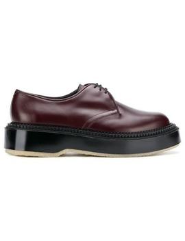 Platform Oxford Shoes by Undercover