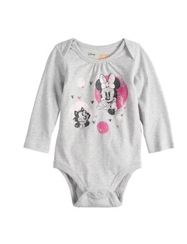 Disney's Minnie Mouse Baby Girls Softest Bodysuit By Disney/Jumping Beans® by Disney's Minnie Mouse Baby Girls Softest Bodysuit By Disney/Jumping Beans