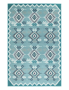 "Riviera 7645 Kilim 1'11"" X 7'6"" Indoor/Outdoor Runner Area Rug by Liora Manne'"