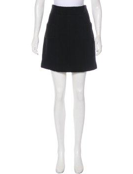 Wool Mini Skirt by Chanel