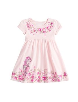 Disney's Beauty And The Beast Belle Toddler Girl Babydoll Dress By Jumping Beans® by Disney's Beauty And The Beast Belle Toddler Girl Babydoll Dress By Jumping Beans
