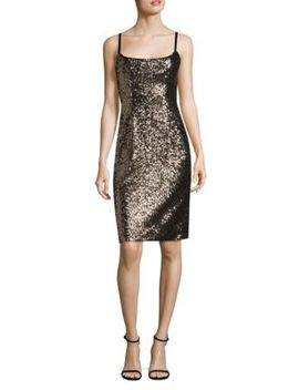 Tara Sequined Dress by Milly