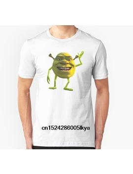 Fashion Cool Men T Shirt Women Funny Tshirt Shrek Wazowski Customized Printed T Shirt by Ali Express