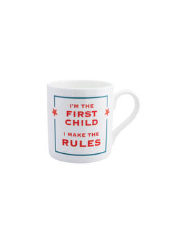 Mc Laggan Smith First Child Mug, 300ml, White/Multi by Mclaggan Smith