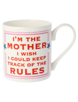 Mc Laggan Smith Mother Mug, 300ml, White/Multi by Mclaggan Smith