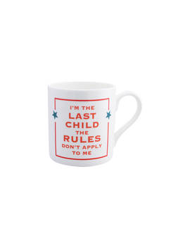 Mc Laggan Smith Last Child Mug, 300ml, White/Multi by Mclaggan Smith