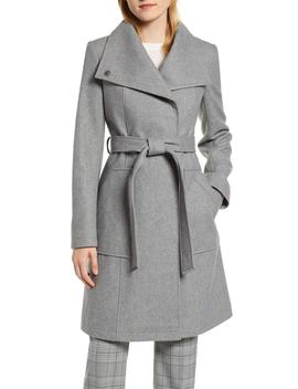 Belted Wool Blend Coat by Halogen®