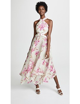 Corsage Scarf Dress by Zimmermann