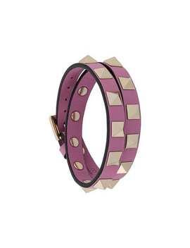Valentino Garavani Rockstud Wrap Bracelet by Valentino