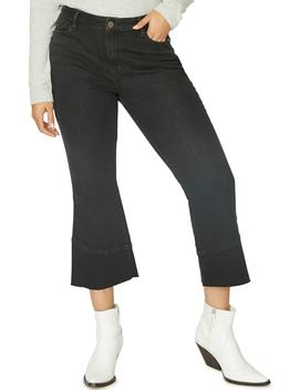 Tulip Hem Kick Crop Jeans by Sanctuary