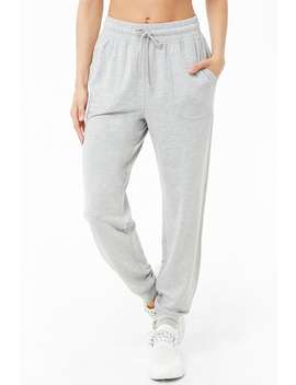 Active Heathered Joggers by Forever 21