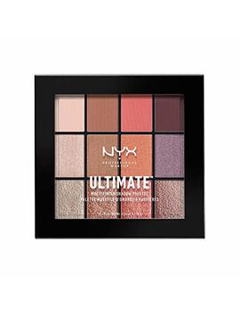 Nyx Professional Makeup Ultimate Multi Finish Shadow Palette, Sugar High, 0.48 Ounce by Nyx