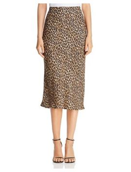 Leopard Pencil Skirt by Three Dots