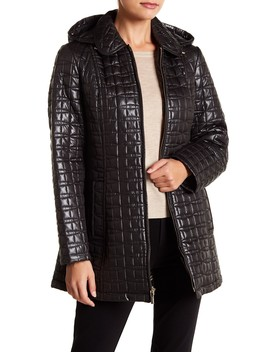 Hooded Quilt Jacket by Kate Spade New York
