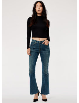 Kaya Venture   High Waisted, Kick Flare Jean by Citizens Of Humanity