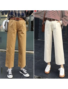 Wide Leg Pants Women 2018 Spring New Hot Fashion Female Casual Basic Simple Loose High Waisted Bottoms Pants Trousers Fd15#8604 by Kesebi
