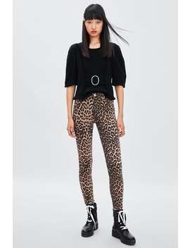 Animal Print Skinny Jeans  Bottomsstarting From 50 Percents Off Woman Sale by Zara
