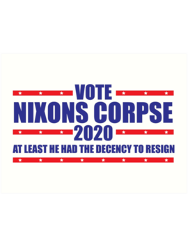 Nixons Corpse by Leftpointshirts