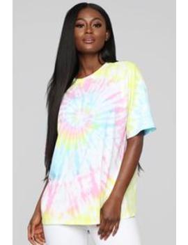 In The Zone Tunic   Multi Color by Fashion Nova