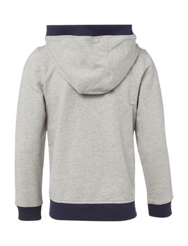 Boys Cotton Zip Up Hoody by Hugo Boss
