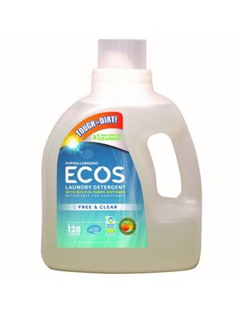 Ecos Liquid Laundry Detergent Free & Clear, 128 Oz by Ecos