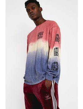 Uo Baja Ombre Long Sleeve T Shirt by Urban Outfitters