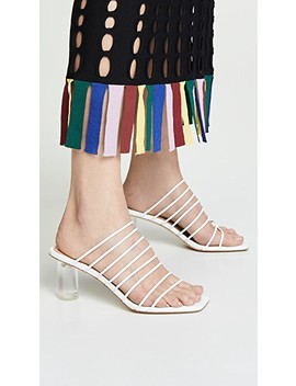 Zoe Heel Sandals by Rejina Pyo