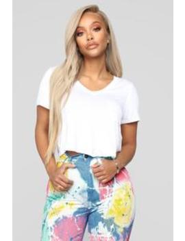 Do It Your Way Top   White by Fashion Nova