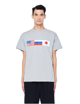 Gosha Rubchinskiy Cotton Flag T Shirt by Garmentory