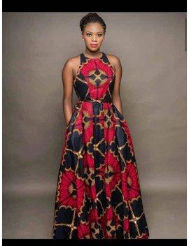 Dede African Maxi Dress, Ankara Dress, African Clothing, Women Clothing, Women Dress, African Dress, Maxi Dress by Etsy