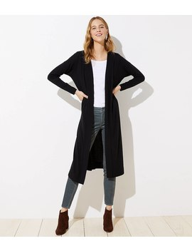 Knit Duster by Loft