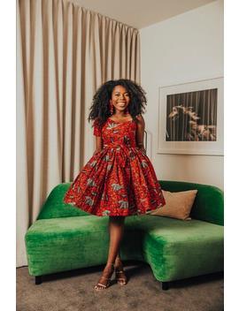 Women's Clothing, African Fabric Short, Summer Dress, Ankara Dress, African Clothing, African Dress, African Print Dress, African Fashion by Etsy