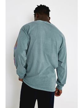 Uo Acapulco Green Long Sleeve T Shirt by Urban Outfitters