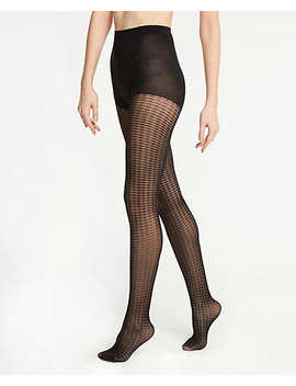 Houndstooth Tights by Ann Taylor