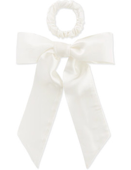 Silk Ribbon And Hair Tie Set by Slip