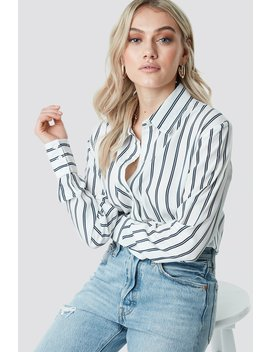 Oversized Striped Shirt by Na Kd