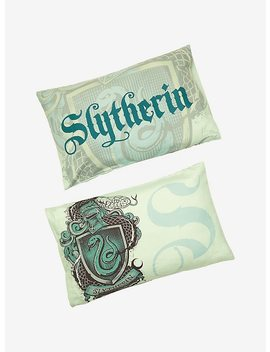 Harry Potter Slytherin Pillowcase Set by Hot Topic