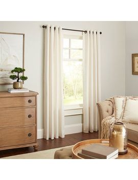 Cassidy Chambray Ivory Grommet Curtain by Pier1 Imports