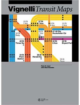Vignelli Transit Maps by Peter B. Lloyd