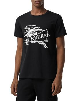 Logo Graphic T Shirt by Burberry