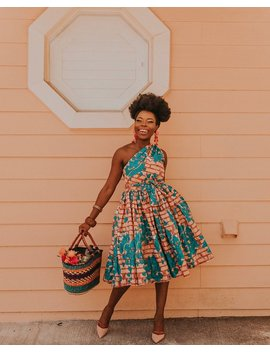 Ankara Dress African Clothing African Dress African Print Dress African Fashion Women's Clothing African Fabric Short Dress Summer Dress by Etsy