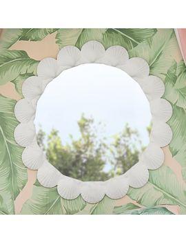 The Emily & Meritt Shell Mirror by P Bteen