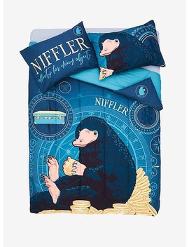 Fantastic Beasts And Where To Find Them Niffler Full/Queen Comforter by Hot Topic