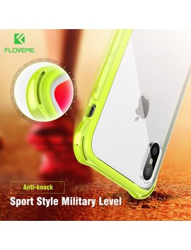 Floveme Anti Knock Case For I Phone X , Shockproof Corner Bumper Designed Mobile Phone Cases For I Phone X 10 Cover Accessories    by Floveme
