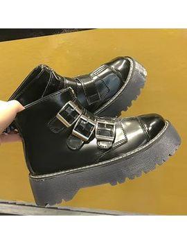 Feticcio   Platform Lace Up Short Boots by Feticcio