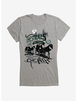 Harry Potter Thestrals Are Only Visible Girls T Shirt by Hot Topic