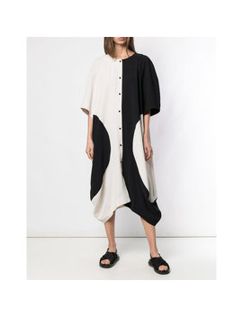 Henrik Vibskov Circle Dress   Black/White by Garmentory