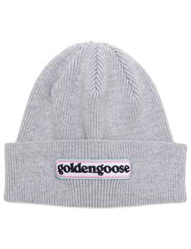 Logo Beanie Hat by Golden Goose Deluxe Brand