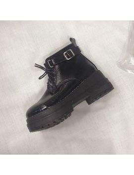 Zandy Shoes   Platform Lace Up Short Boots by Zandy Shoes