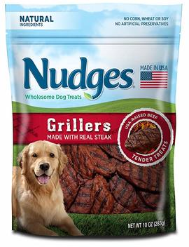 Nudges Steak Grillers Dog Treats by Nudges
